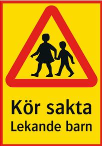 Lekande barn
